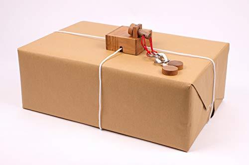 ROMBOL KEEPR - Der Geschenkesafe - Kreatives Geduldsspiel als Geschenkverpackung für Erwachsene und Kinder, Modell:Fort Knox