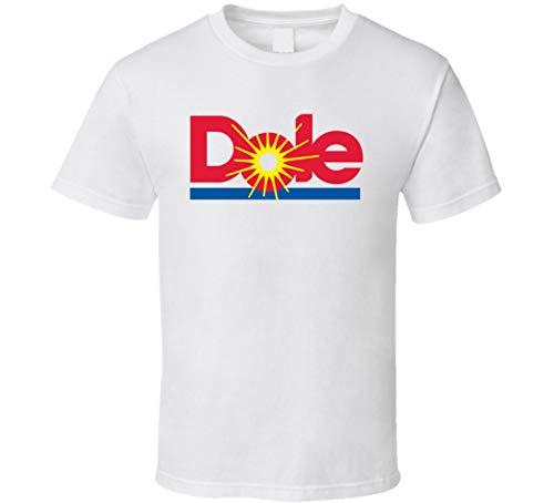 N/Y Dole Healthy Juice Fruit Snack Logo T-shirt bianca Nero...