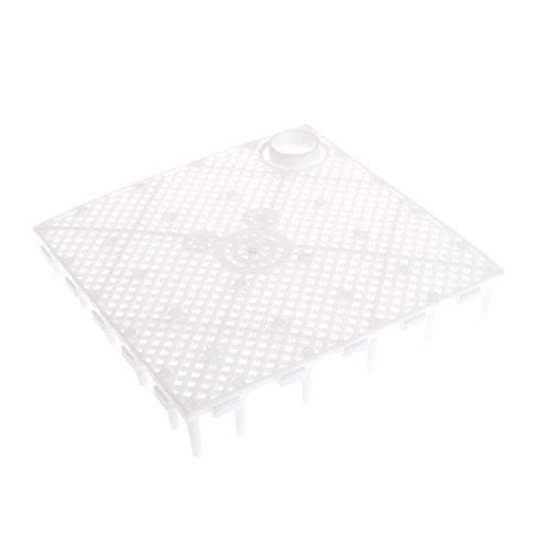 Plaque de filtre décorative pour aquarium - Système d'amplification de gravier - Thermomètres de lumière pour plantes - Pompe à air - Pompe à gravier - Décoration de filtre pour aquarium