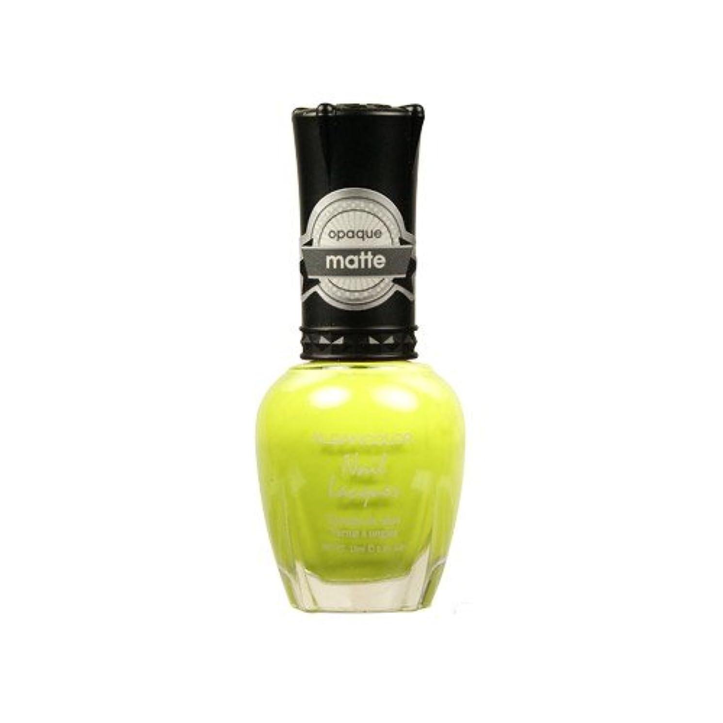 コショウスリチンモイ辞書(6 Pack) KLEANCOLOR Matte Nail Lacquer - Lime Tickle (並行輸入品)