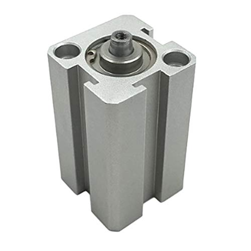 Milageto – Cilindro de aire de 12 mm, doble acción, aleación de aluminio, diámetro 1/8 pulgadas