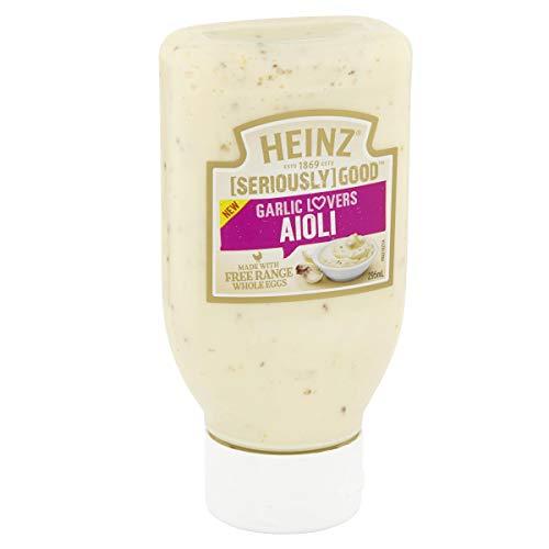 Heinz Seriously Good Aioli Garlic Lovers Mayonnaise, 295ml