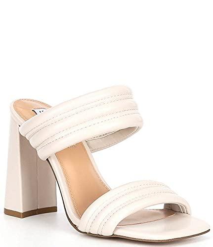 [スティーブマデン] シューズ 27.0 cm サンダル Tahani Banded Block Heel Dress Mules Bone レディース [並行輸入品]