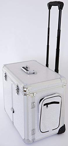 Fusspflegekoffer Modell Silber Glitzer im neuen Design
