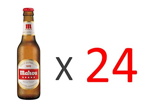 Bier Mahou 5 Sterne 24x25cl (Pack 24 Flaschen)