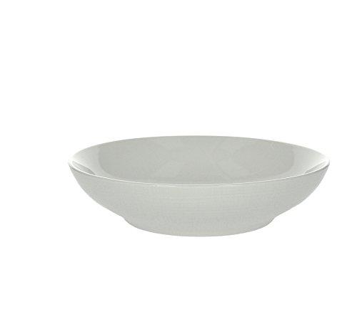 Tognana Victoria - Juego de 6 platos hondos de porcelana, blanco, 6 unidades
