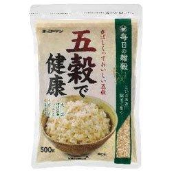 キッコーマン 五穀で健康 500g×12袋入×(2ケース)
