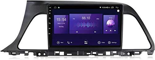 Android 10 Car Radio de Navegación GPS para Hyundai Sonata 7 2014-2017 con 9 Pulgada Pantalla Táctil Support FM Am RDS DSP/MP5 Player/BT Steering Wheel Control/Carplay