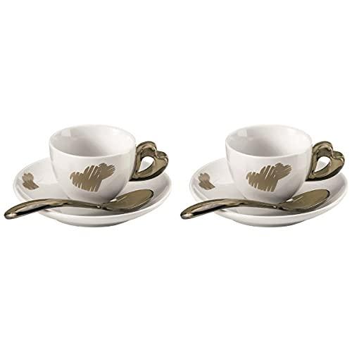 Guzzini 8008392290032 Kaffeebecher, 2 Stück