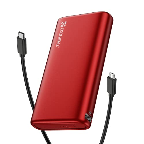 Power Bank de 20000 mAh Con dos Salidas(2.0A+2.0A) y Entradas de Alta Velocidad, Cargador Portátil Coolreall, Batería Externa Compatible Con Varios Teléfonos Móviles, iPads, Computadoras Portátiles