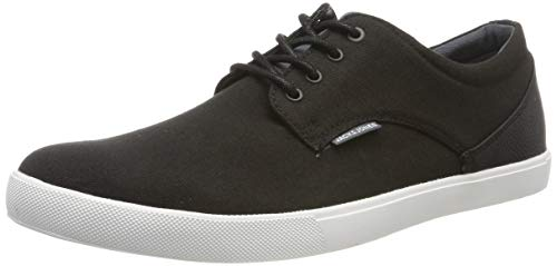JACK & JONES Herren JFWNIMBUS Canvas Mix Sneaker, Grau (Anthracite Anthracite), 41 EU