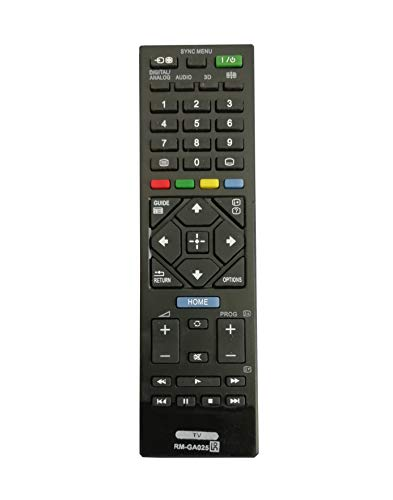 LipiWorld® RM-GA025 Remote Control Compatible for Sony LCD LED TV with 3D Function