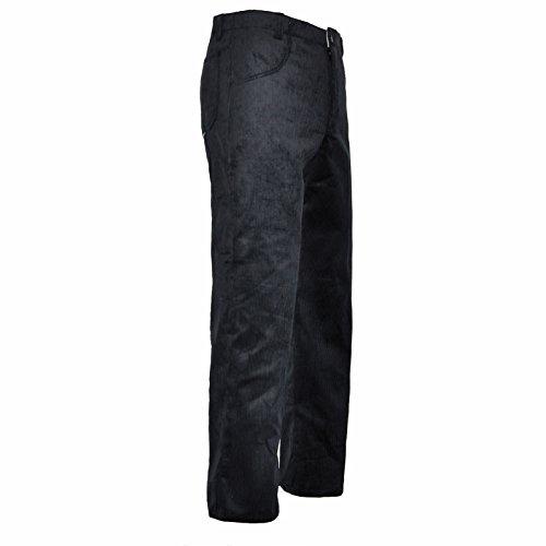 EIKO Bund-Hose Arbeits-Hose Genuacord - 2 Seitentaschen - schwarz - Größe: 52