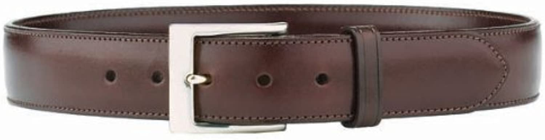 Galco SB334H Dress Belt, 34, Havana Brown