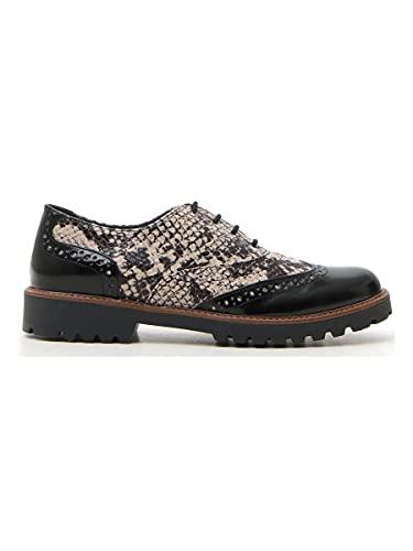 scarpe pittarello PITTARELLO Scarpe Stringate Donna Nero in Sintetico