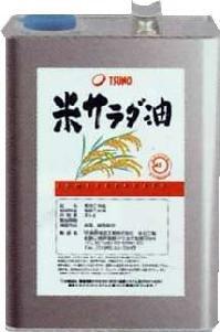 国内のぬかを使用した安心安全の【米サラダ油3kg缶】