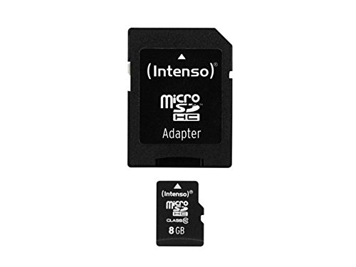Speicherkarte Intenso 8 GB Micro SDHC Class 10 für Nintendo 3DS Modul