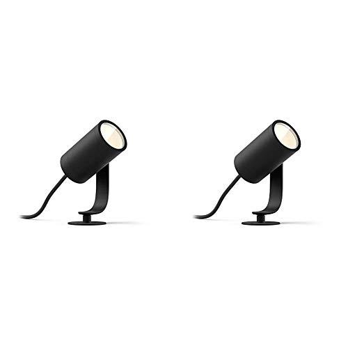 Philips Hue Lily Foco inteligente de exterior LED + Philips exteriores 1742830P7 Hue Lily-Foco LED