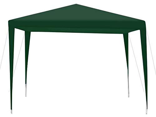 MT MALATEC Ersatzdach für Pavillon 2,90x2,90m Wasserdicht 110/m2 9924, Farbe:Grün