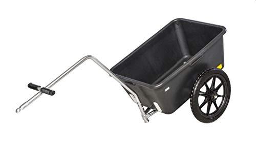 Fahrradanhänger - Anhänger - Handwagen - Bollerwagen mit 2 unplattbaren Reifen bis 95 kg belastbar DS