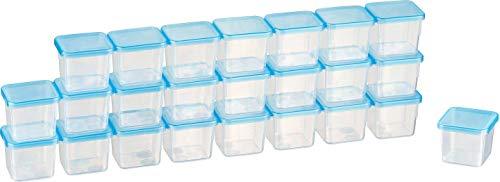 MiraHome Kigima Mini-Tiefkühldose 0,03l rechteckig 3,5x3,5x3,3 cm 24er Set