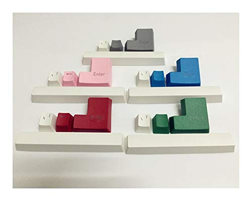 YEZIO Keycaps für Keyboards 4 Schlüssel PBT Double Shot translucidus Backlit Zugänge Keycaps for Steel 6Gv2 / 7G Mechanicalgaming Keyboard Universal (Axis Body : for SteelSeries 7G, Color : Red)