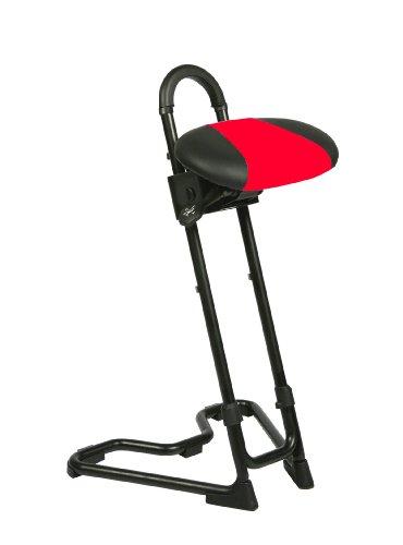 Stehhilfe - schwarz-rot
