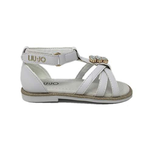 Liu-Jo Milano Sally 506 Sandalo Pietre Bianco 4A0311EX013 S1400 (28)