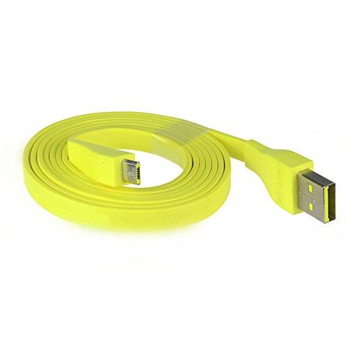 ROUHO 1.2 M Amarillo Micro USB Cable De Carga para Logitech UE...