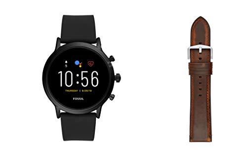 Fossil Orologio Digitale Uomo con Cinturino in Acciaio Inossidabile FTW4025 + Cinturino dell'orologio S221299