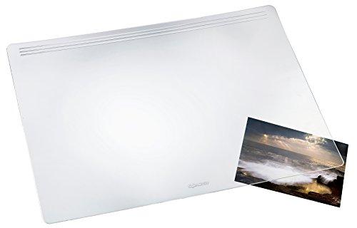 Loper bureauonderlegger 39 x 60 cm transparant helder