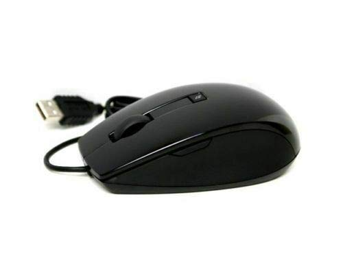 Dell USB Optical 6 Button Laser Mouse, Black, Upto 1600 DPI, Selectable 400 dpi to 1600 dpi Dell P/N P/N: F994G, J660D, J661D,