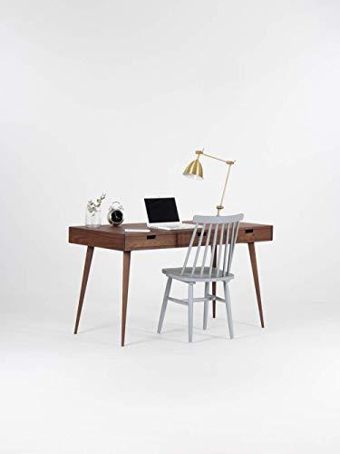 Holzschreibtisch, Bürotisch, Büro, Mid Century Modern, massive Eiche