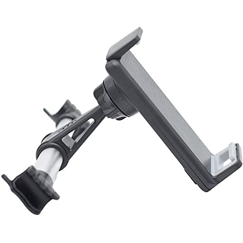 ZBQLKM Car tablet holder Car Headrest Tablet Mount Holder Compatible with Smartphones/Tablets/Switch 7'-11', Universal Adjustable Mount Bike Bracket (Color : A)