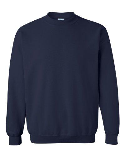 Gildan - Sudadera de cuello redondo unisex Azul azul marino 4X-Large