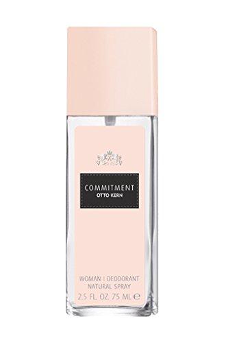 Otto Kern Commitment Woman femme/woman, Deodorant, Vaporisateur/Spray, 1er Pack (1 x 75 g)
