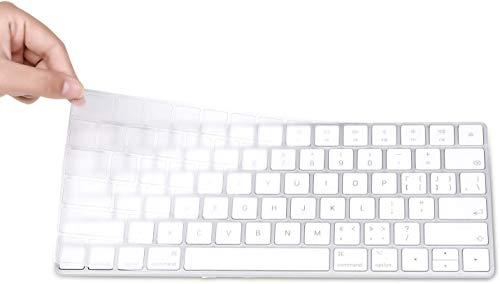 OJOS Magic Keyboard Cover Skin Protector, Fit for Apple iMac Magic Keyboard MLA22LL/A A1644 – Clear TPU