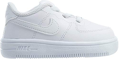 Nike Unisex Baby Force 1 '18 (td) Niedrige Hausschuhe, Mehrfarbig White White 100, 22 EU
