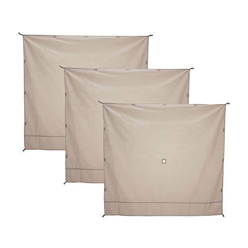 Gazelle 21077 Pop-up Portable Gazebo Screen Tent Wind Panels, 3 Pack