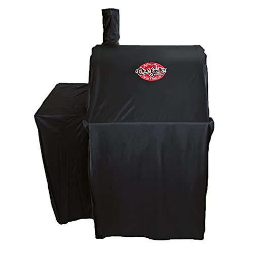 Char-Griller 2323 Wrangler Charcoal Grill Cover, Black