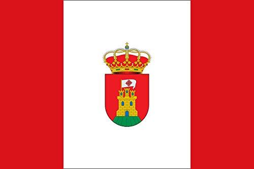 magFlags Bandera Large Alcolea de Calatrava, Ciudad Real, España | Bandera Paisaje | 1.35m² | 90x150cm