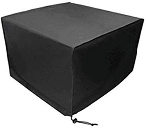 dfff Funda Protectora para Muebles de jardín, sofá, Mesa y Silla de Patio al Aire Libre, Impermeable, a Prueba de Polvo, Four Seasons, Universal, Negro, 28 tamaños