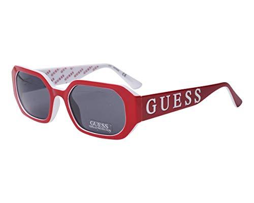 Guess gafas de sol GU7694 66 gafas de Mujer de color Rojo de la lente del humo tamaño de 53 mm