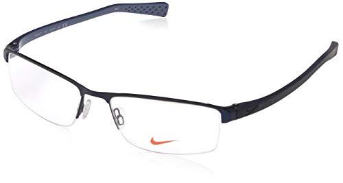 Eyeglasses NIKE 8097 400 SATIN BLUE-MIDNIGHT NAVY