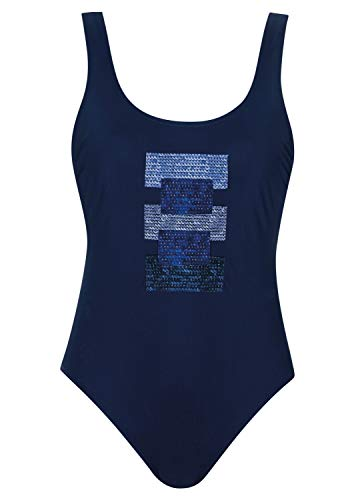Olympia Badeanzug Path Cup D, Farbe blau, Größe 38
