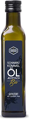 Schwarzkümmelöl BIO | ägyptisch - kaltgepresst - nativ - 100% naturrein | native goods - 250ml