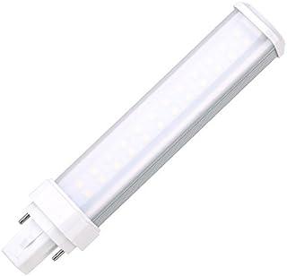 YC bombilla led g24 11 W blanco frío 6000 K 180 grados 26w cfl/g24 led de 2 pines de repuesto de fluorescente compacta PL lámpara (quitar la de derivación/lastre)