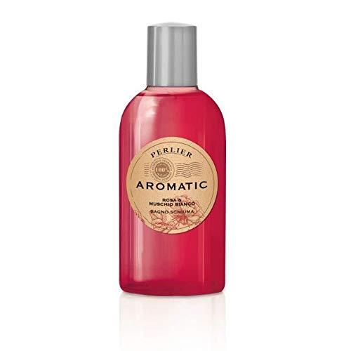 Perlier Aromatic Ritual - Bagno Schiuma Rosa E Muschio Bianco, 500ml