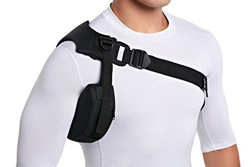 NEOFECT Shoulder Brace - Prevents Subluxation & Dislocation for hemiplegic Shoulder, Rotator Cuff, AC Joint, Labrum Tears, Arm Sling (Left)