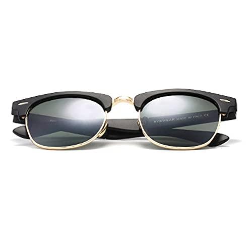 YHD Gafas De Sol, Gafas De Sol Plegables para Hombres Y Mujeres